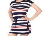 Ss mini dress small navy blue fashion blue stripe cotton women dress 1395573915679 thumb155 crop