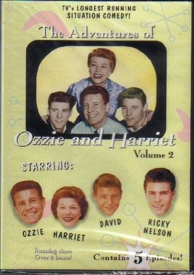 Primary image for Ozzie and Harriet VOL 2 new never opened