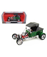 1923 Ford T-Bucket Soft Top Green with Black Top 1/18 Diecast Model Car - $58.49