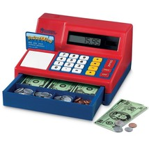 Cash Register Kids Toy Fun Pretend Play Calculator Makes Sounds Money Co... - $38.99