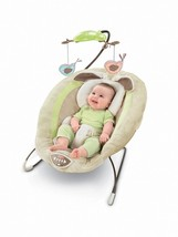 Fisher Price Deluxe Bouncer Baby Child Infant Seat Chair Rocker Swing Music Fun - $62.99