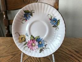 Royal Standard Saucer Vintage China Floral Pretty - $1.28