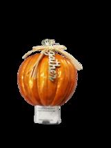 Bath and Body Works Orange Pumpkin Gather Wallflower Warmer Plug - $16.99