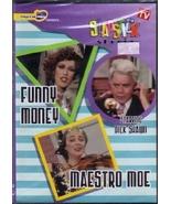 Slapstick Funny Money Maestro Moe 2 episodes  new never open - $1.00