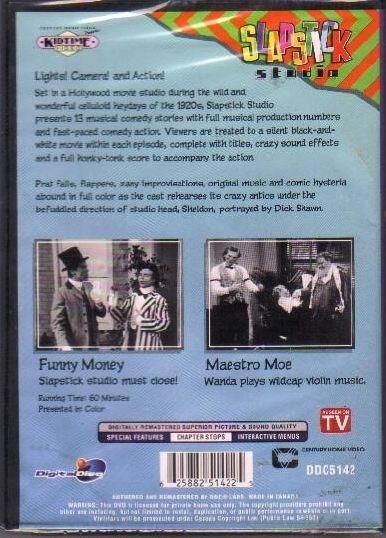 Slapstick Funny Money Maestro Moe 2 episodes  new never open