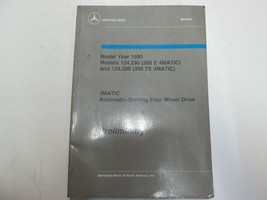 1990 Mercedes Benz Modell 124.230 124.290 4MATIC Auto Gang 4WD Prelim Ma... - $41.54