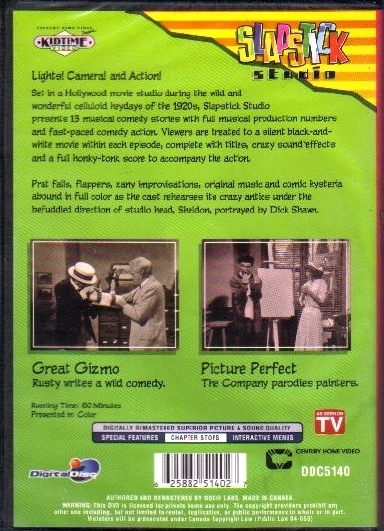 Slapstick Great Gizmo Picture Perfect 2 episodes  new never