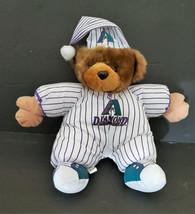 "Vintage Diamondbacks Pajama Teddy Bear Plush Good Stuff 12"" Dbacks MLB NEW - $15.67"