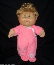 2004 Cabbage Patch Kids Blonde Baby Girl Laughing Stuffed Animal Plush Toy Doll - $36.47