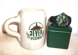 Brauhaus zu Jever German Beer Stein & Jever Wrist Watch - $34.95
