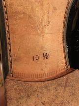 Sz Black Dress Leather Tuxedo 10 Oxfords 105 Broadway Shoe Patent FORMAL MEZLAN SYwW6qzf55