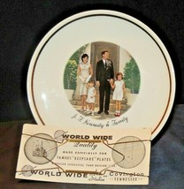 Collector's Plate J.F. Kennedy and Family AA20-7200 Vintage