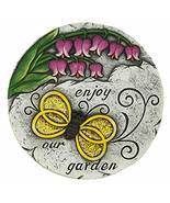 Summerfield Terrace 10018540 Enjoy Our Garden Stepping Stone, Multicolor - $28.36