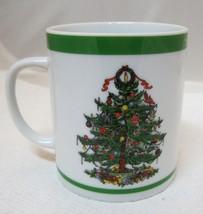 Yule Tide By Georges Briard Japan Christmas Tree Coffee Mug Cup - $29.69