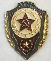 """Soviet (USSR) Military Badge Cold War Period """"An Honoree Soldier Of Sovi... - $14.03"""