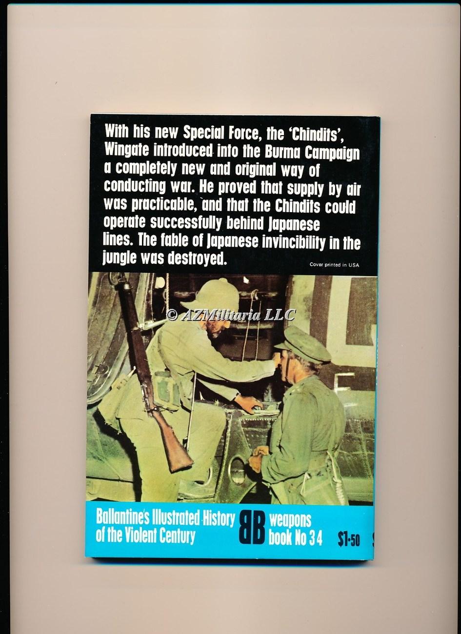 Chindits Long Range Penetration (Weapons Book, No 34)