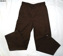 Mens  Brown Dickies Work Pants size 34x34 NWOT - $16.99