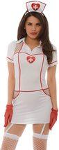 Sexy Hospital Hottie Costume Role Play Bedroom Deluxe Costume Nurse Uniform image 2