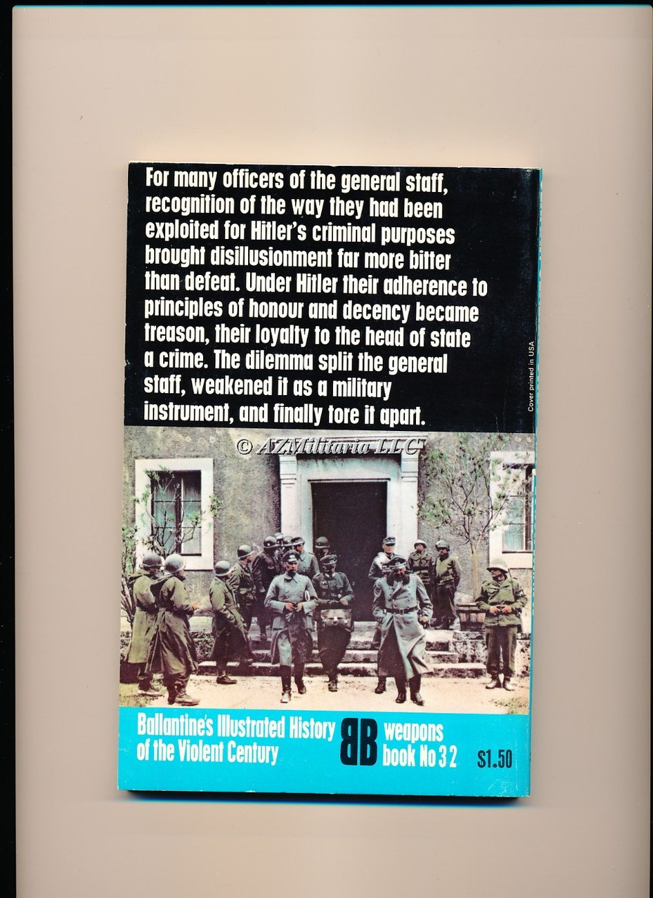 German General Staff (Weapons Book, No 32)