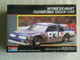 FACTORY SEALED Monogram #83 Wynn's/K-Mart Oldsmobile Stock Car #2779 Lak... - $17.81