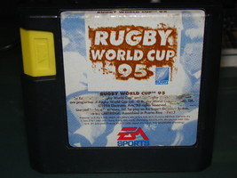 SEGA GENESIS - EA SPORTS - RUGBY WORLD CUP 95 (Game Only) - $3.00