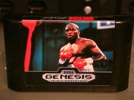 """SEGA GENESIS - James """"Buster"""" Douglas BOXING (Game Only) - $6.25"""