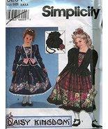 Simplicity Daisy Kingdom Sewing Pattern 9234 Girls Dress and Purse, Size... - $7.91