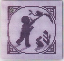 Finding A Bird's Nest with charm cross stitch chart Handblessings - $5.00