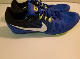 NEW Nike Zoom Rival Sprint  Volt/Blue 806555-413 Multi-Use Track Shoes U... - $27.72