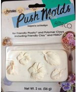 Roses Push Molds Designed by Judi Maddigan for Friendly Plastic & Polyme... - $24.70