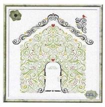 Cottage (AAN187) cross stitch chart Alessandra Adelaide Needlework - $16.20