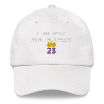 I Am More Than An Athlete Hat / King James / Basketball Dad hat image 9