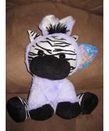 "EASTER ZEBRA BUNNY 2015 Brand New Plush NWT Stuffed Animal w Tags 12"" SU... - $9.99"