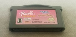 Barbie Superpack: Secret Agent Barbie/Barbie: Groovy Games (Nintendo GBA... - $1.97