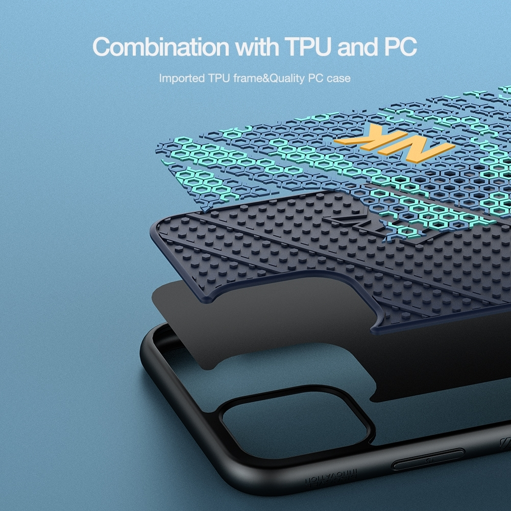 iPhone 11 Pro Max NILLKIN 3D Texture Striker Case image 7