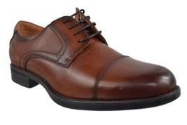 Mens Florsheim Comfortech Midtown Cap Toe Cognac Oxford Shoes [12138 221] - $87.99