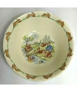 Royal Doulton Bunnykins Childrens China Plate Bowl Mug Cup Theatre River... - $49.49