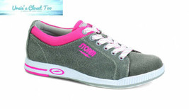 Storm Meadow Bowling Shoes 8.0, Grey/Pink - $65.09
