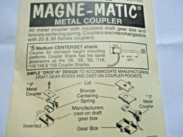 Kadee #5 Metal Coupler Medium Centerset Shank 2 Pair HO Scale image 3