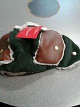 Wondershop Target Pet Hat Medium/ Large green stripped Winter - $6.99