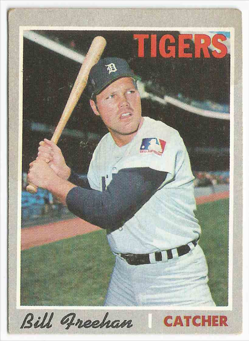 1970 Topps Bill Freehan - Detroit Tigers Detroit Tigers #335
