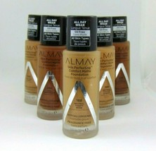 ALMAY SKIN-PERFECTING Comfort Matte Foundation 1.Fl.oz/30ml Choose Shade - $7.95+