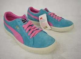 Puma Shoes Clyde Baltic Turquoise Super Pink Sneakers 11 Mens Archive 18... - $69.25