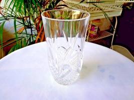 Cristal De Flandre Salzburg Pattern Clear Crystal Tumbler(s) - $8.91