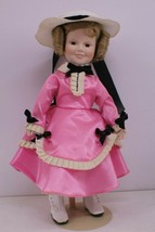 """Shirley Temple """"The Little Colonel"""" Doll Danbury Mint 1995 - $30.00"""