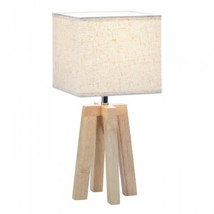 Geo Wooden Table Lamp - $35.56