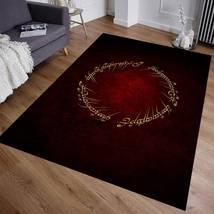 Lord of the Rings Rug, Area Rug, Fan Carpet, Modern Rug, Popular Rug 90x... - $88.00
