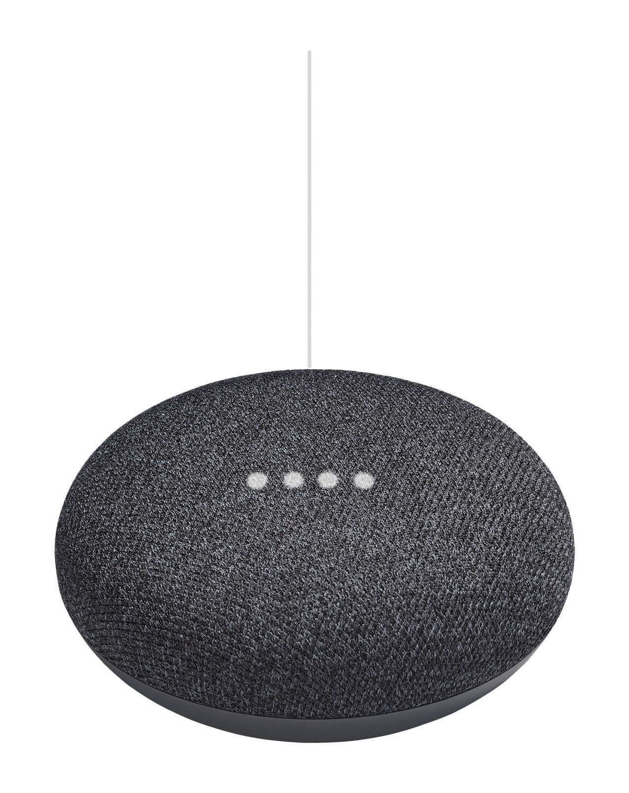 Google Home Mini Voice Activated Smart Speaker - Charcoal - Worldwide Delivery