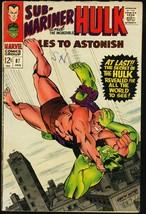 TALES TO ASTONISH #87-HULK/SUB-MARINER-1967 VG - $18.62