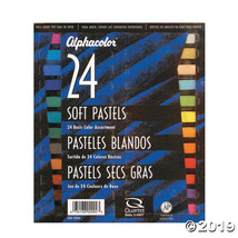 Alphacolor Soft Pastel Set Basic Colors 24ct - $27.45